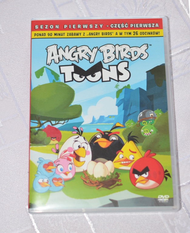 ANGRY BIRDS - film - płyta DVD