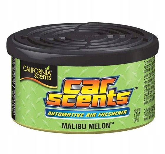 ZAPACH CAR SCENTS CALIFORNIA MALIBU MELON