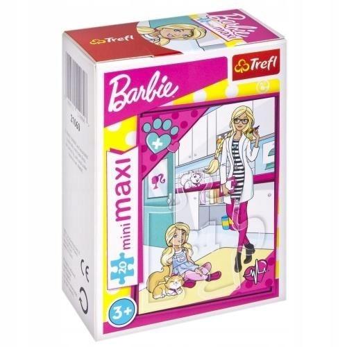 Puzzle 20 Minimaxi Wymarzony zawód Barbie 4 TREFL