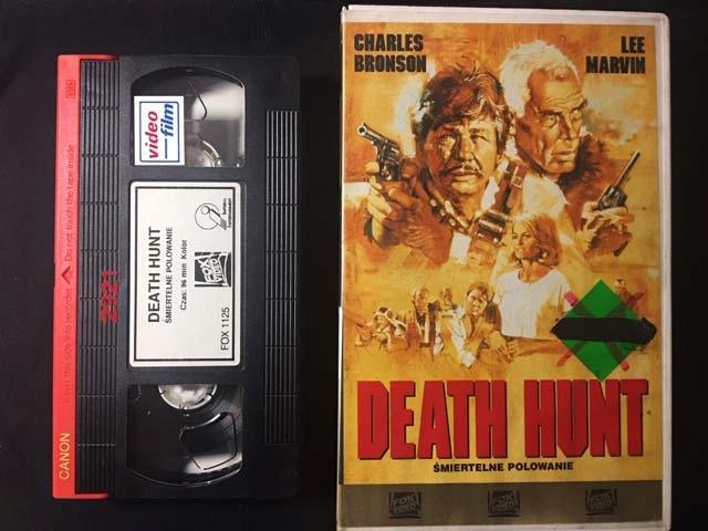ŚMIERTELNE POLOWANIE / DEATH HUNT 1981 VHS