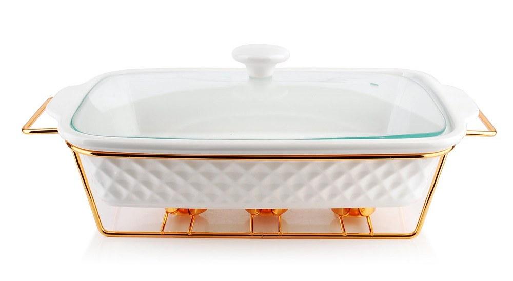 Naczynie Ceramiczne Podgrzewacz Diamond Gold 2 9 L 9141821596 Oficjalne Archiwum Allegro