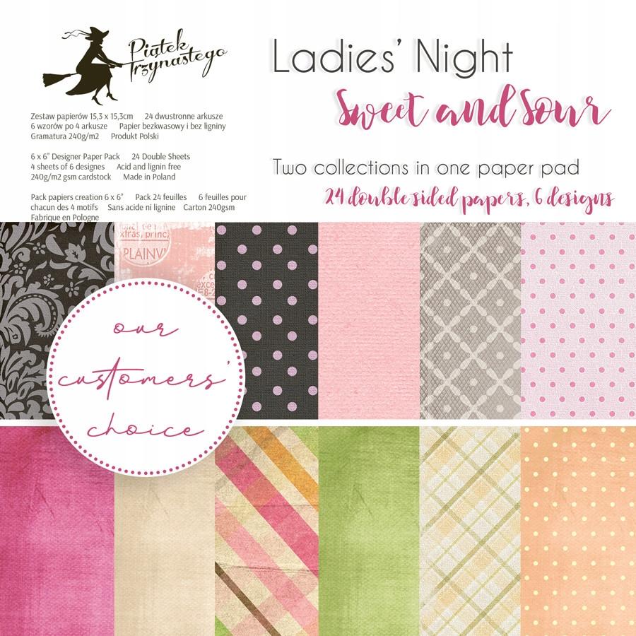 Zestaw papierów 15x15 Ladies' Nigh Sweet and Sour