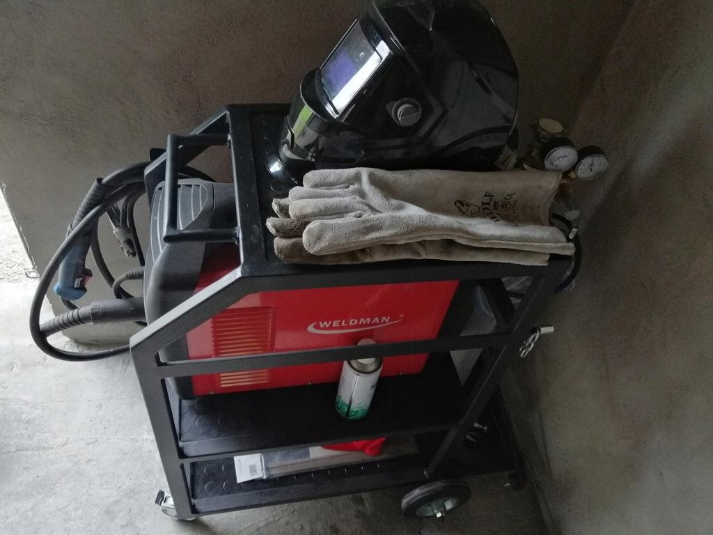 Wózek Spawalniczy Solidny Spawany Profil 30x20x2