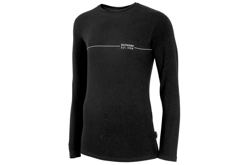 Koszulka męska czarna Outhorn HOZ19 TSML600