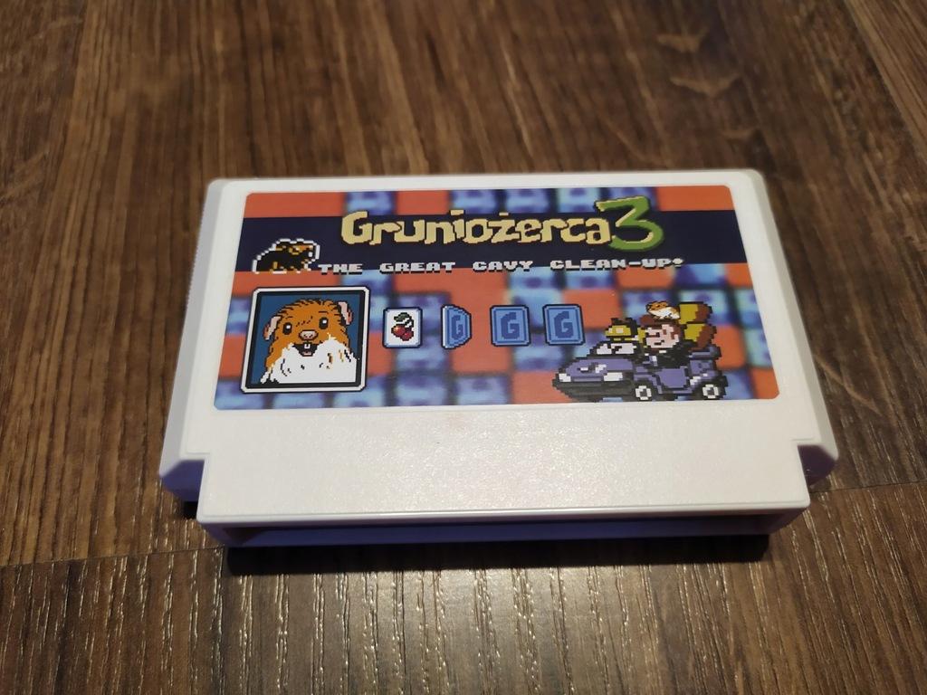 Gruniożerca 3, Famicom, Pegasus, Nes