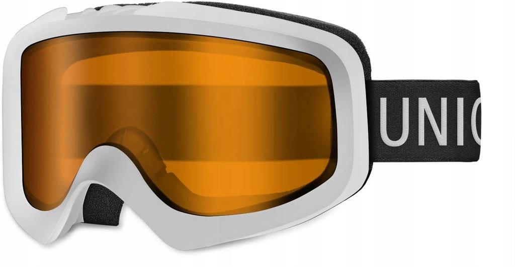 Gogle narciarskie UNIGEAR Skido X1 białe
