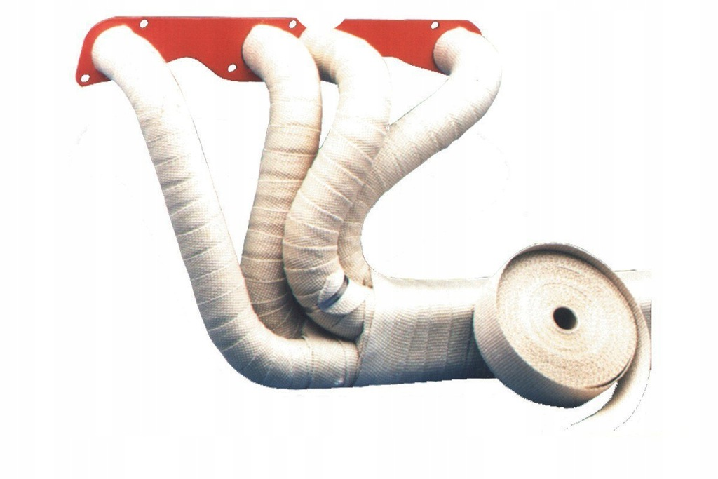 Taśma termiczna TurboWorks 50mm x 2mm 10m White