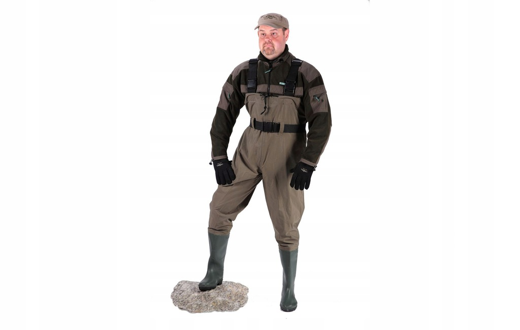 Mikado Spodniobuty na szelkach protektor rozm.45