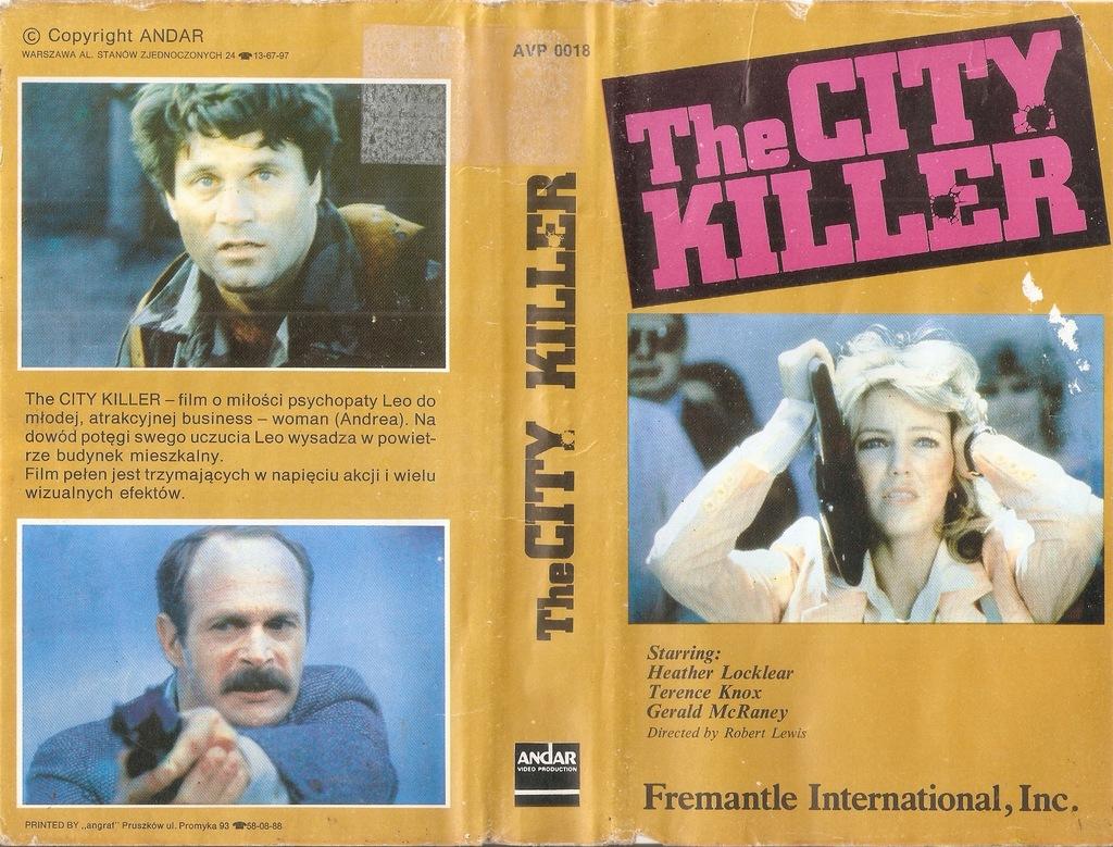 Zabójca miasta - VHS