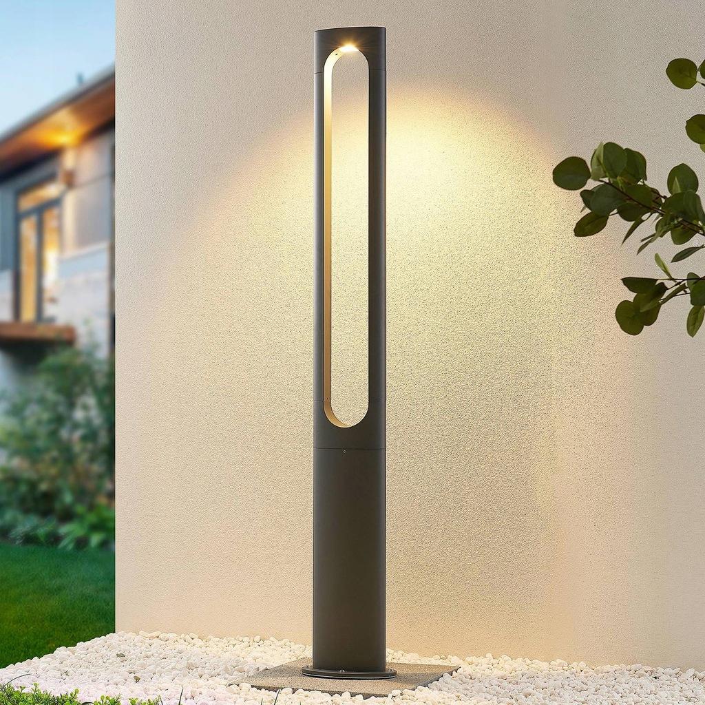 LUCANDE latarnia ogrodowa Dovino A+ , czarny