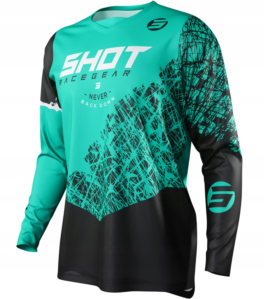 Bluza cross enduro SHOT RACING DEVO GREEN XXL