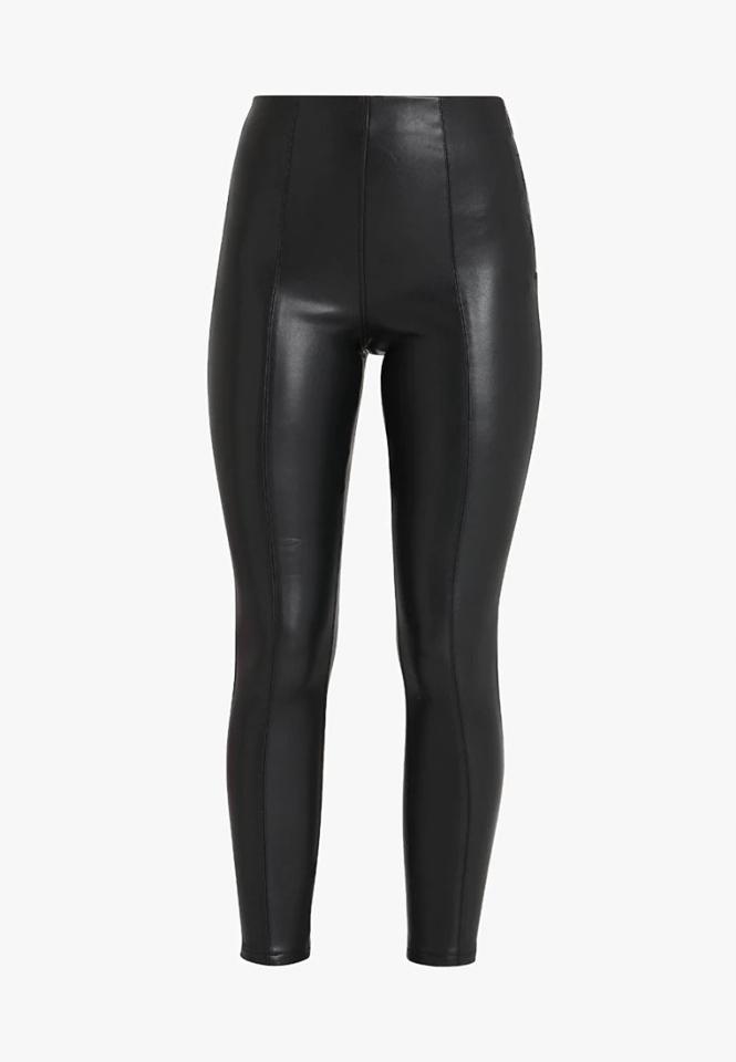 Spodnie z podwyższonym stanem New Look 38
