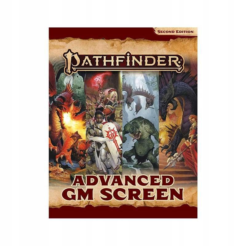 Pathfinder 2.0 RPG: Advanced GM Screen [ENG]