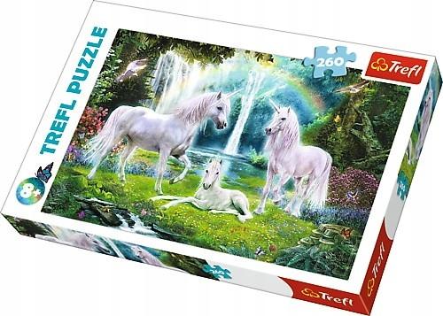 Puzzle 260 el. Jednorożce konie Trefl 13240