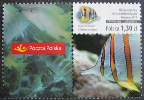 Fi 4572 - luzak, Ryby z przyw. Poczta Polska