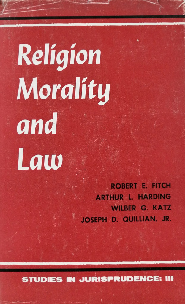 Religion Morality and Law