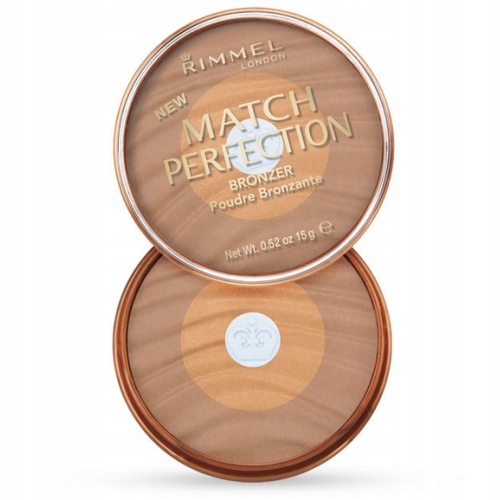RIMMEL Match Perfection Bronzer 001 Light PUDER