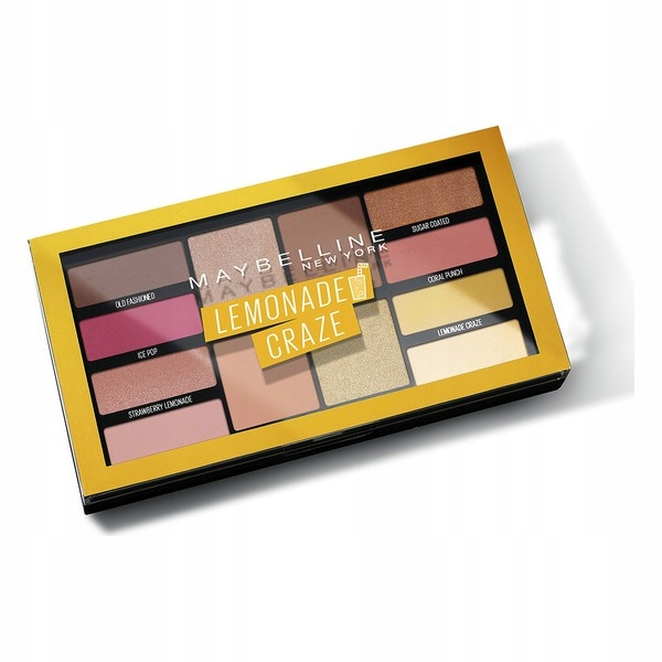 Paleta Cieni do Oczu Lemonade Craze Maybelline (12