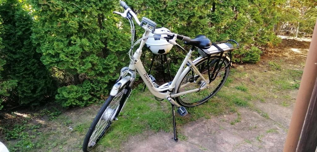 Rower elektryczny Gazelle xtra innergy medeo.