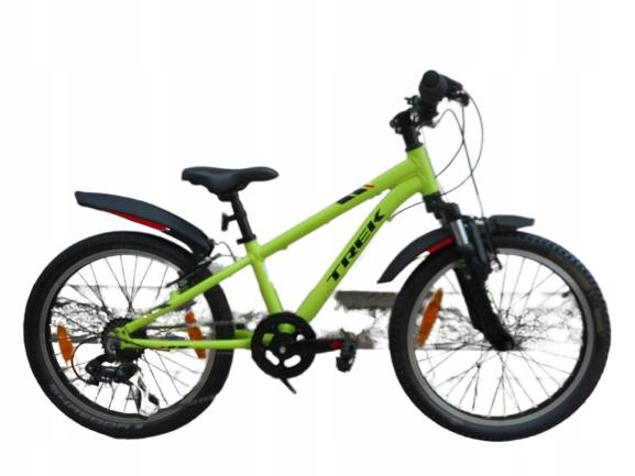 aluminiowy rowerek TREK koła 20 18 biegów idealny