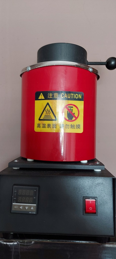 AC110V 220V Czerwony kolor 2KG Pojemność