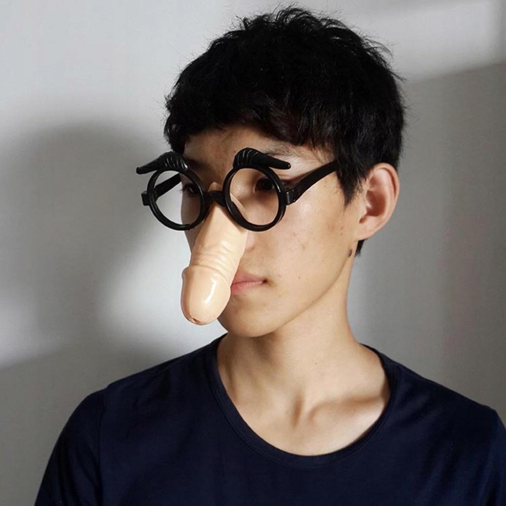 penis zamiast nosa