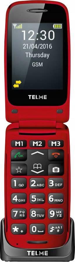 Telefon komórkowy Telme X200 z klapką dla seniora