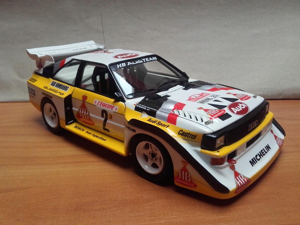 AUDI QUATTRO S1 WRC Walter Rochrl