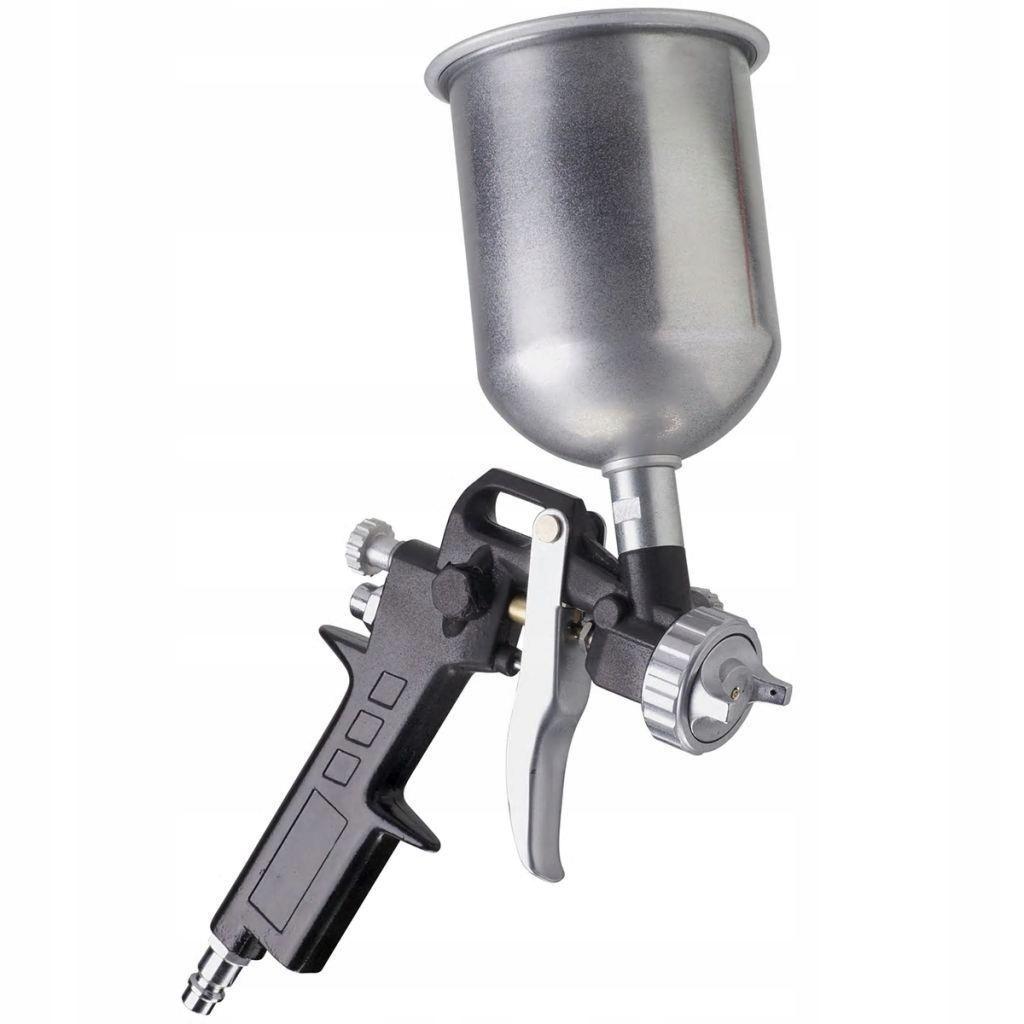 FERM Pistolet lakierniczy ze zbiornikiem górnym AT