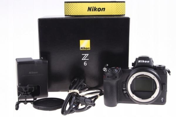 Nikon Z6 body 112 zdjęć na gwarancji komplet WWA