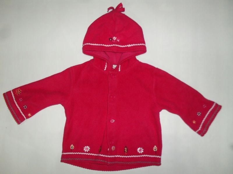 Polarowa bluza TU roz. 68-74
