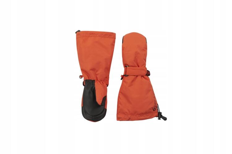 Rękawiczki zimowe Ducksday snowy mittens orange 3/