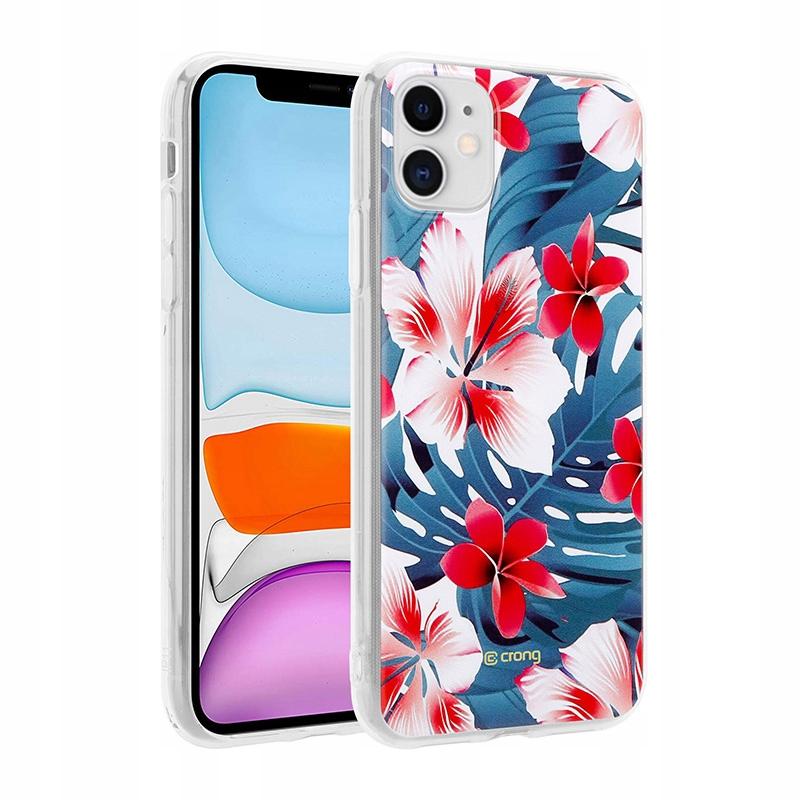 Crong Flower Case - Etui iPhone 11 (wzór 03)