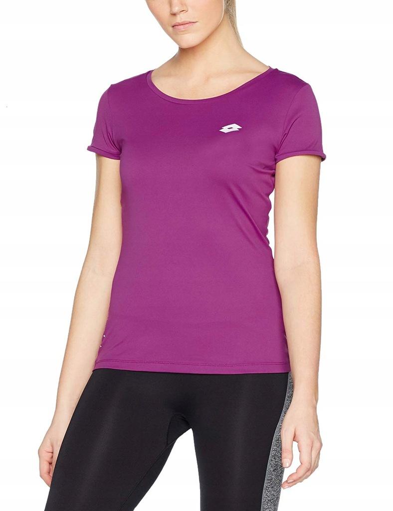 Koszulka damska T-shirt Lotto Ursula M fiolet