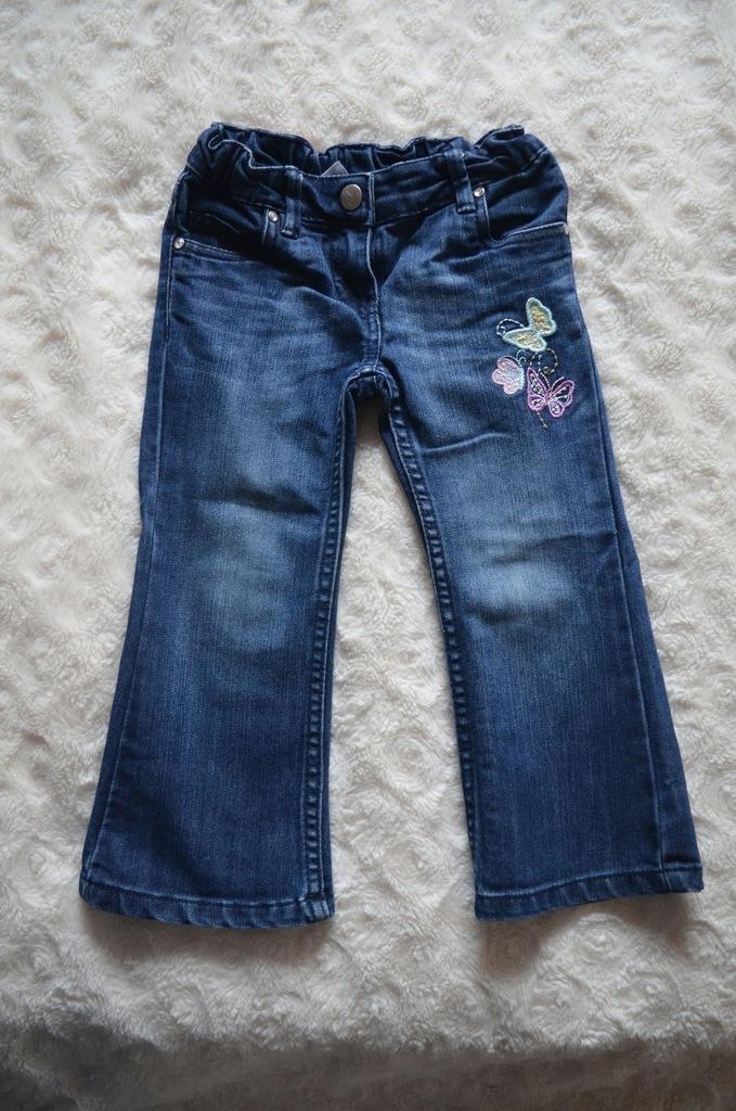 Spodnie jeans PALOMINO C&A r98 dla dziewczynki