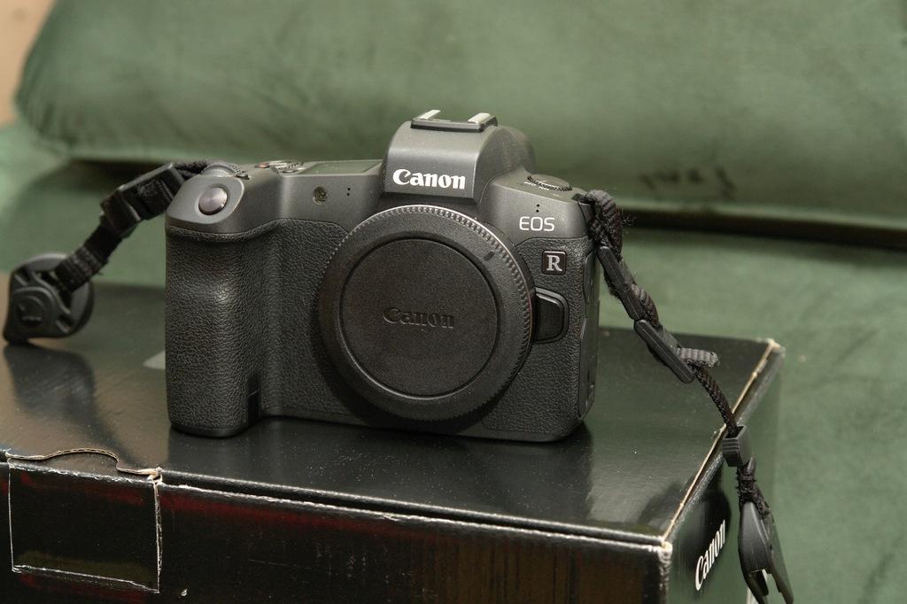 Canon EOS R + adapter RF/EF