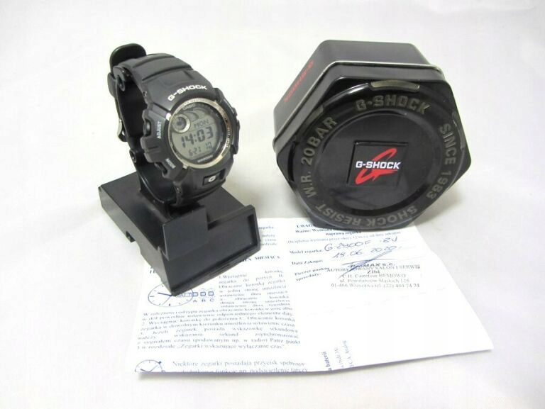 CASIO G-SHOCK G-2900F KARTA GW. / PUDEŁKO