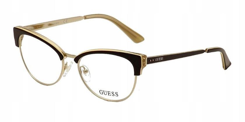Okulary Guess GU2552 zerówki oprawki
