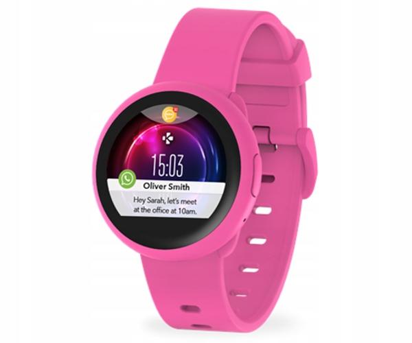 Mykronoz ZEROUND3 LITE różowy smartwatch SMS Whats