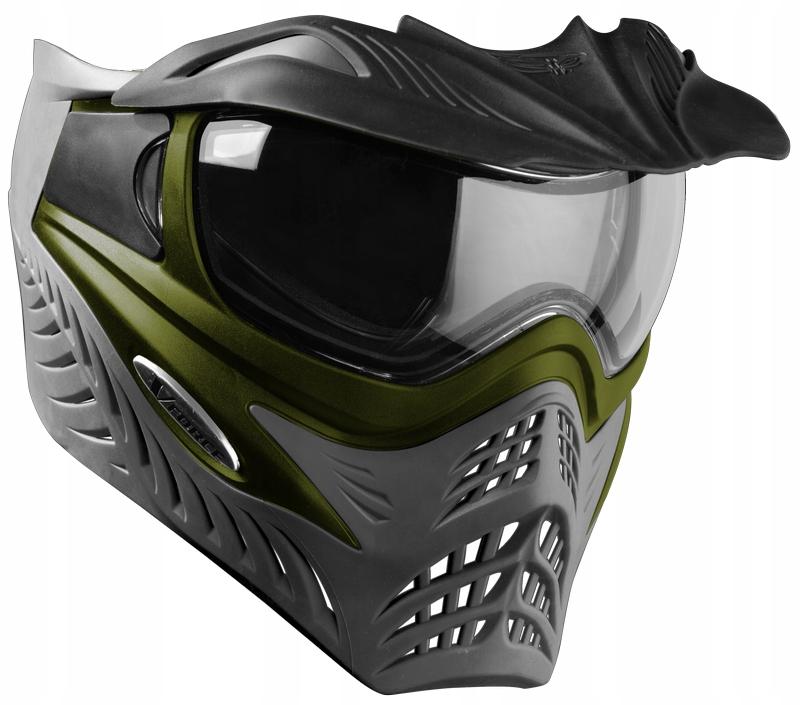 Vforce Grill Green on Grey – Maska do paintballa