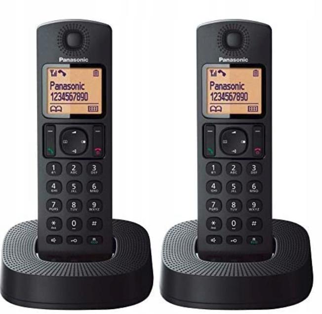 telefon Dect Duo Panasonic TGC312 negro