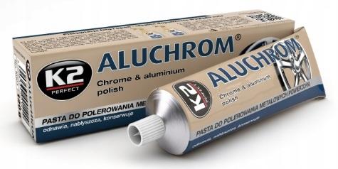 K2 ALUCHROM PASTA DO FELG CHROM I ALUMINIUM 120G