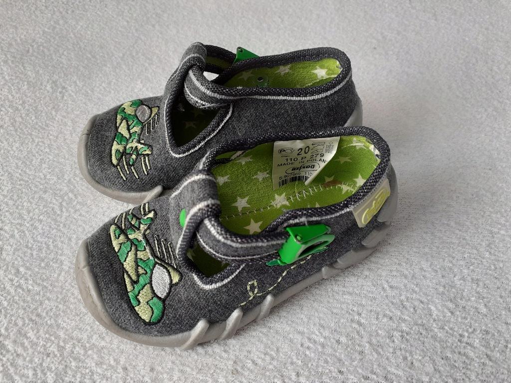 Buty pantofle Befado dla chłopca roz. 20