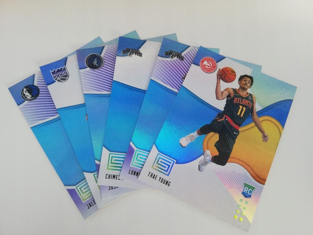 Ponad 200 różnych kart NBA (lot) Stan bardzo dobry