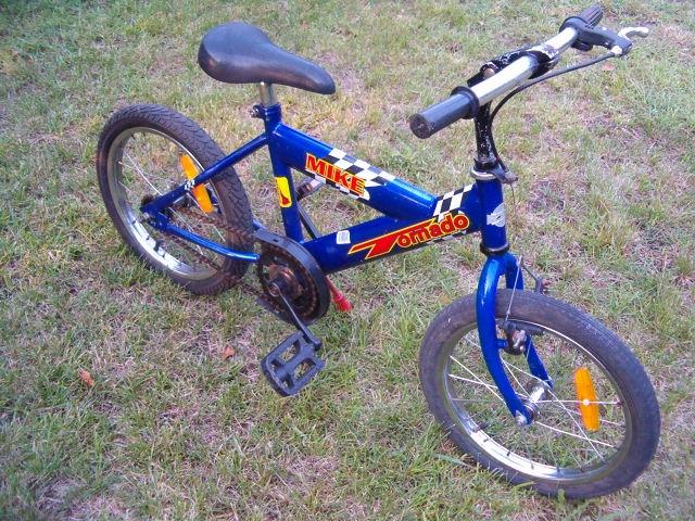 """Rower dziecięcy Tornado Mike - 16"""""""