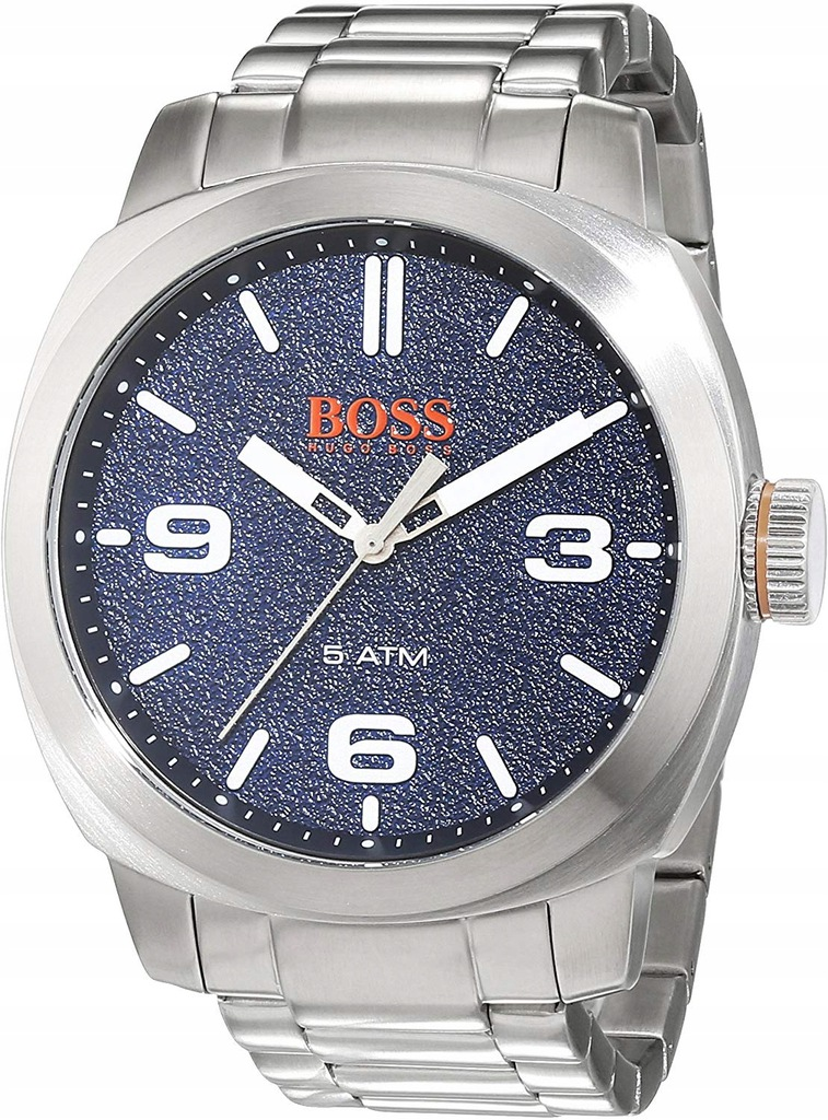 Zegarek HUGO BOSS 1513419 męski srebrny