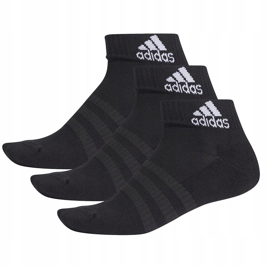 Skarpety adidas Cush ANK 3PP czarny rozmiar 40-42