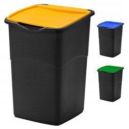 Kubeł kosz segregacja odpadów 3szt 47l