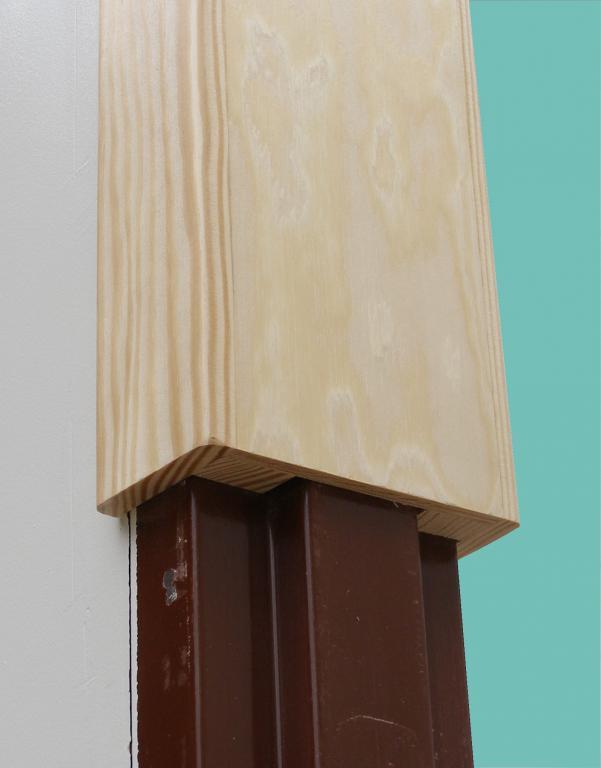 Drewniana Oscieznica Nakladka Na Stara Futryne 7318200306 Oficjalne Archiwum Allegro