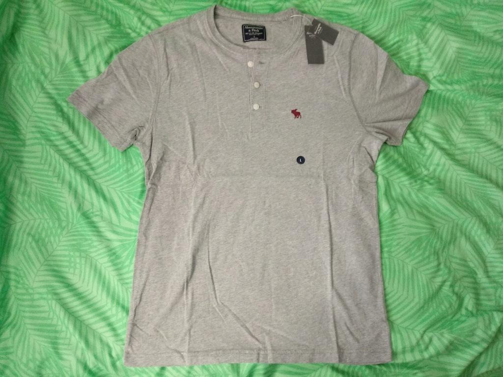 Nowa koszulka abercrombie&fitch Hollister L gr